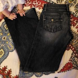 Paige flared Jean's size 28.